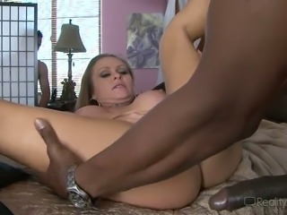 Cuckold hot  blonde