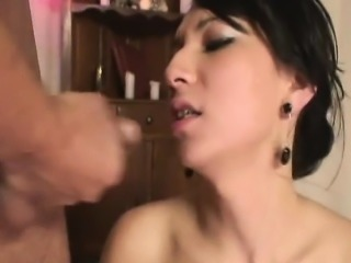 Horny Shemale Bareback Fucked by her Boyfriend