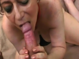 Chubby Redhead Granny Gets Fucked In A Forest