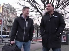 Fat Amsterdam hooker cockriding tourist