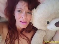 Eat my Squirt Teddy Bear, Mommy's Horny