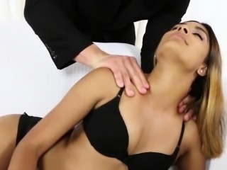 Hot Katalina Mills Giving Blowjob and Fucked by Nice Dick