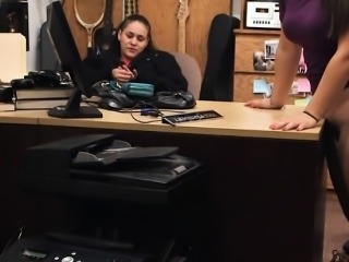 Couple bitches try to steal and pounded at the pawnshop