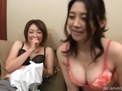 Two of the most amazing Tokyo models getting a foursome treatment