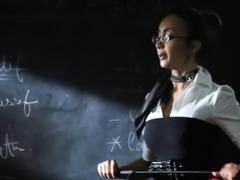 Teachers fucking sucking big dick threesome