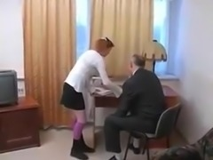 STP3 Sexy Schoolgirl Gets Fucked By The Headmaster !