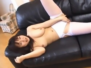 Nasty anal fisting and wild toying with horny Rei