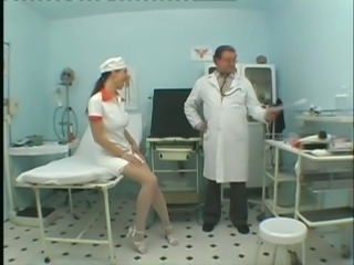 Hot New Nurse Comes In Doctor Office For Hardcore Sex