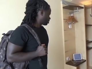 German MILF gets fucked by big black cock