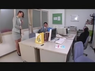 Japanese teachers awesome legs in sheer pantyhose