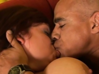 Mature fatty loves to feel chubby knobs stuffing her pussy