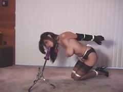 Sexy bound babe