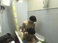 Couple Amazing Bathroom Fuck