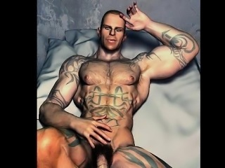 3D Muscle Boys Love Cocks and Cum!
