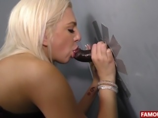 Big Black Cock Glory Hole With Tiffany Watson
