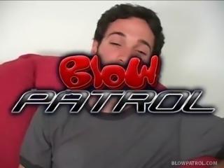 Dark Haired Stripper Swallows Cum