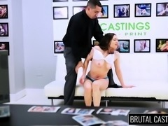 Cute babe Tiffany Star gets her hands tied up and her cunt nailed hard