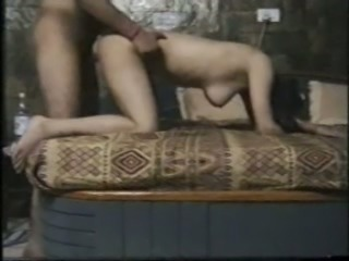 Perverted booty amateur Indian gal turns mish into a nonstop doggy fuck