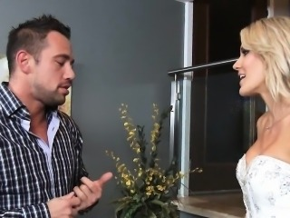 Bride's Last Fuck Audrey Show