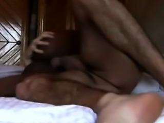 African babe & white boyfriend banging