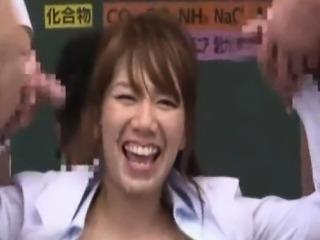 Japanese Teacher Bukkake