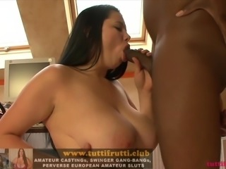 Bi tits Mely on my casting