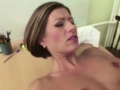 MILF Teacher Seduce to Anal Fuck by Younger Man