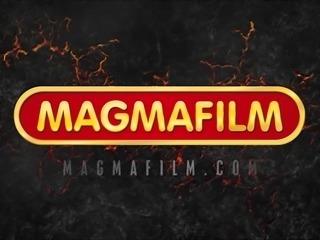 MAGMA FILM Gorgeous German Babe rides big dick
