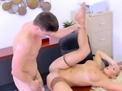 Busty Manager Olivia Fox Loves Assistants Cock