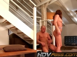 Brunette Babe With Hairy Pussy Gets Pounded Zuzana