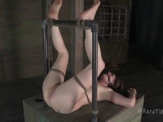 Slutty bint CiCi Rhodes loves being tied up and gagged