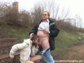 Amazing Teen Gets Fucked Hard By A Disgusting Old Man