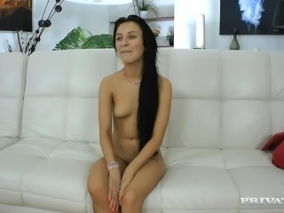 This is no ordinary sexy scene with a sexy chick Sandra