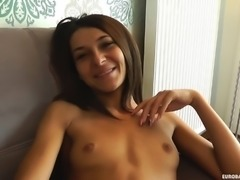 Alexis Brill is ready for a nasty facial