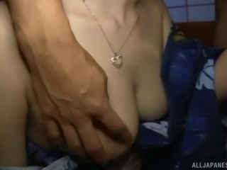 Nagasawa might be a little scared but she still wants to get pounded