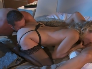 Babes in Lingerie Fuck like Wild Whores for This Threesome