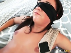 Brunette gets down and nasty in steamy anal action with Tommy Gunn