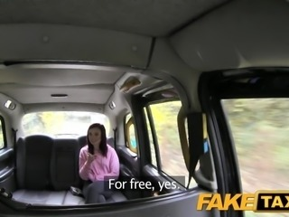 FakeTaxi Petite American redhead does anal