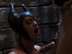 Parody shoot of fake tits babe withstanding big cock hardcore