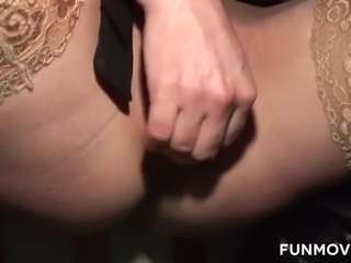 Horny German Milfs are looking for pleasure and the best way are many cocks and a fist up her wet squirting pussy.