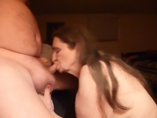 got to get my weekly cum in my mouth, over due