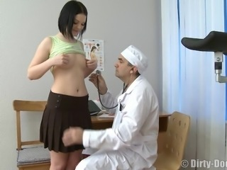 Rita likes being fucked by her mature skillful physician