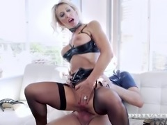 Feverish BF ass fucks delicious aged slut Marina Beaulieu in multiple poses...