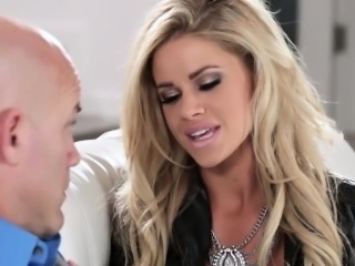Busty Jessa Rhodes seduces and fucks married man Derrick