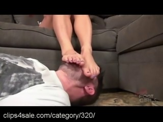Foot Smothering at Clips4sale.com