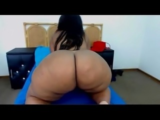 Big panda live on webcam wit that donk#2