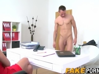 Hot casting agent smashed doggystyle