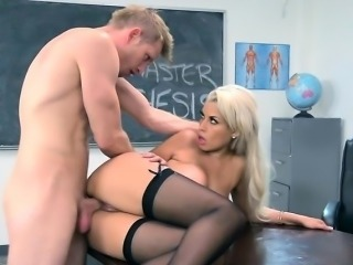 Sexy Teacher Bridgette B Gets Good Dicking
