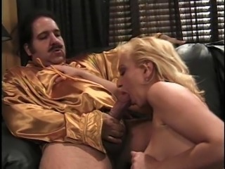 Alexandra Silk will do anything for a mature hunk's massive boner