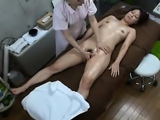 Lusty exotic woman enjoys having her private parts touched